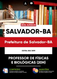 Professor de Físicas e Biológicas - Prefeitura de Salvador-BA