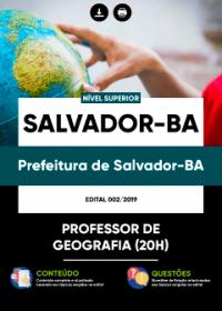 Professor de Geografia - Prefeitura de Salvador-BA