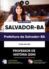 Professor de História - Prefeitura de Salvador-BA