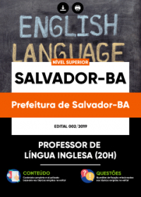 Professor de Língua Inglesa - Prefeitura de Salvador-BA