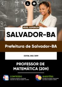 Professor de Matemática - Prefeitura de Salvador-BA