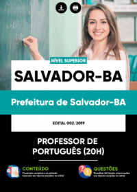 Professor de Português - Prefeitura de Salvador-BA
