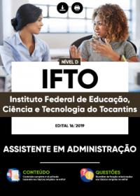 Assistente em Administração - IFTO