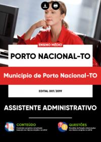 Assistente Administrativo - Prefeitura de Porto Nacional - TO