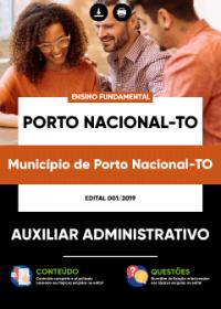 Auxiliar Administrativo - Prefeitura de Porto Nacional - TO
