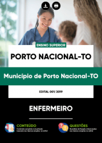 Enfermeiro - Prefeitura de Porto Nacional - TO