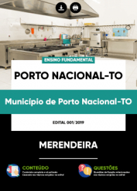Merendeira - Prefeitura de Porto Nacional - TO