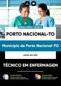 Técnico em Enfermagem - Prefeitura de Porto Nacional - TO