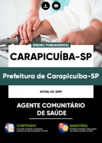 Agente Comunitário de Saúde - Prefeitura de Carapicuíba - SP