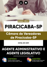 Agente Administrativo e Agente Legislativo - Câmara de Piracicaba - SP