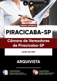 Arquivista - Câmara de Piracicaba-SP
