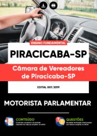 Motorista Parlamentar - Câmara de Piracicaba - SP