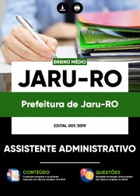 Assistente Administrativo - Prefeitura de Jaru-RO
