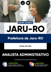 Analista Administrativo - Prefeitura de Jaru-RO