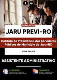 Assistente Administrativo - JARU PREVI-RO
