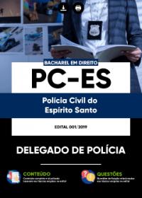 Delegado de Polícia - PC-ES