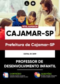 Professor de Desenvolvimento Infantil - Prefeitura de Cajamar-SP