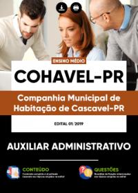 Auxiliar Administrativo - COHAVEL-PR