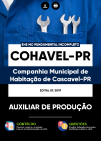 Auxiliar de Produção - COHAVEL-PR