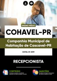 Recepcionista - COHAVEL-PR