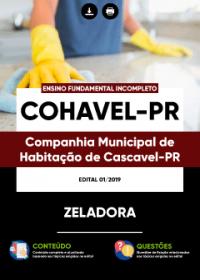 Zeladora - COHAVEL-PR