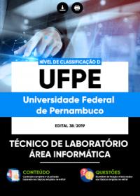 Técnico de Laboratório - Área Informática - UFPE