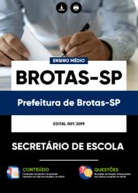 Secretário de Escola - Prefeitura de Brotas-SP