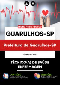 Técnico de Saúde - Enfermagem - Prefeitura de Guarulhos-SP