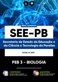 PEB 3 - Biologia - SEE-PB