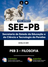 PEB 3 - Filosofia - SEE-PB