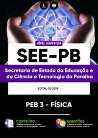 PEB 3 - Física - SEE-PB