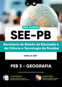 PEB 3 - Geografia - SEE-PB