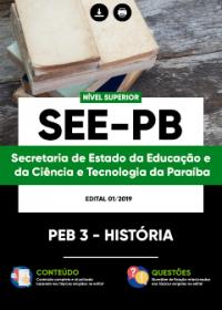 PEB 3 - História - SEE-PB