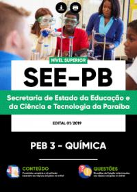 PEB 3 - Química - SEE-PB