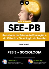 PEB 3 - Sociologia - SEE-PB