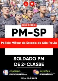 Soldado PM de 2ª Classe - Polícia Militar - SP