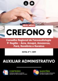Auxiliar Administrativo - CREFONO 9ª Região