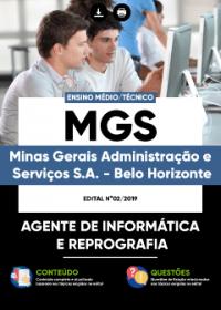 Agente de Informática e Reprografia - MGS