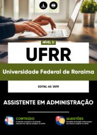 Assistente em Administração - UFRR