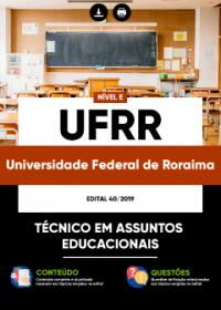 Técnico em Assuntos Educacionais - UFRR