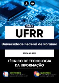 Técnico de Tecnologia da Informação - UFRR