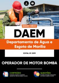 Operador de Motor Bomba - DAEM