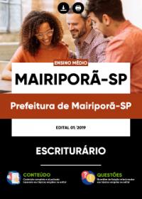 Escriturário - Prefeitura de Mairiporã-SP