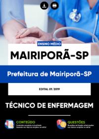 Técnico de Enfermagem - Prefeitura de Mairiporã-SP