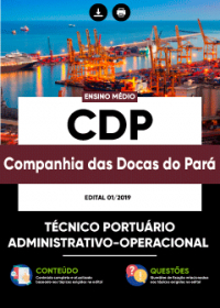 Técnico Portuário - Administrativo-Operacional - CDP