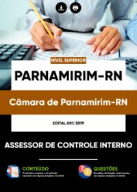 Assessor de Controle Interno - Câmara de Parnamirim-RN