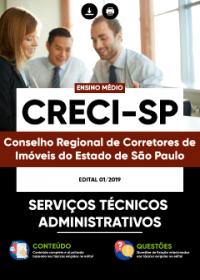 Serviços Técnicos Administrativos - CRECI-SP