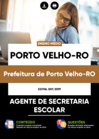 Agente de Secretaria Escolar - Prefeitura de Porto Velho-RO