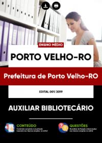 Auxiliar Bibliotecário - Prefeitura de Porto Velho-RO