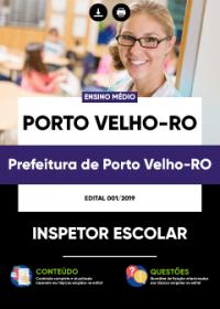 Inspetor Escolar - Prefeitura de Porto Velho-RO